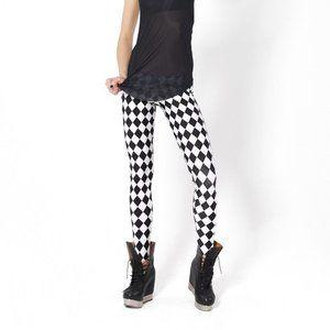 Monochromatic Jester Leggings XS